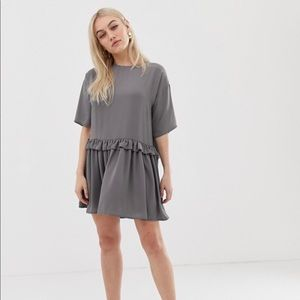 ASOS DESIGN Petite mini smock dress Size 0